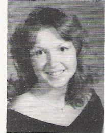 High School Senior Picture Vicki Brown